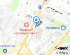 Компания Альфаком на карте города