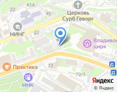 Компания Адвокат Москалёв Э.А на карте города