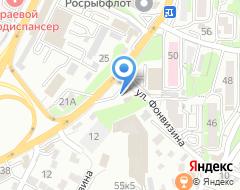 Компания АЗС ООО Бензо на карте города