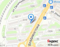 Компания Визитов и Ко на карте города