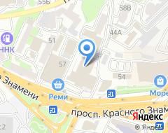 Компания Метры на карте города