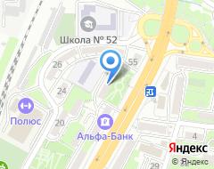 Компания Военный юрист на карте города