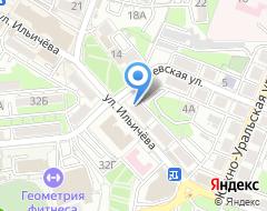 Компания Афина на карте города