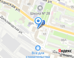 Компания Дальремстрой на карте города