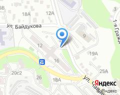 Компания Чапаева на карте города