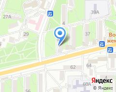 Компания Нотариус Комарова Н.А. на карте города