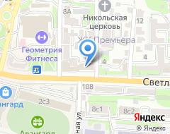 Компания АВЕГА на карте города