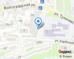 Компания Звезда-ЭМ на карте города