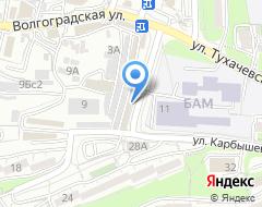 Компания Автомикс на карте города
