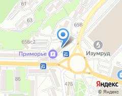 Компания ПРИМСОЦБАНК на карте города
