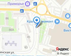Компания Автолюкс-Владивосток на карте города