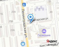 Компания Уссурийский таксопарк, ЗАО на карте города