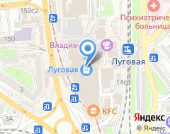 Компания АвтоКузница на карте города