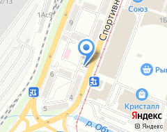 Компания Ломбард БИРЮЗА на карте города