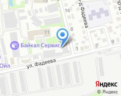 Компания Уссуршина на карте города