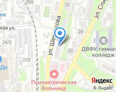 Компания СТО на Шепеткова на карте города