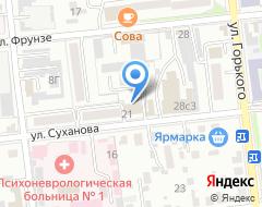 Компания ИРУС-ПК на карте города