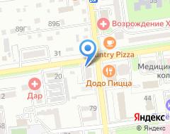 Компания Страховая компания на Горького на карте города