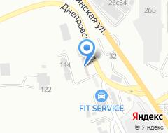 Компания Автомаркет Гамма на карте города