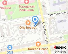 Компания ТехноДВ на карте города