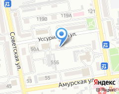 Компания Сертифика ДВ на карте города