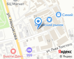 Компания Техномир на карте города