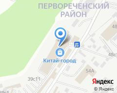 Компания Roofrack на карте города