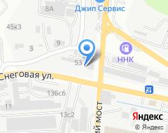 Компания Влад-ДаКар на карте города