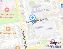 Компания Дальинтурист-Уссурийск на карте города