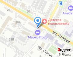 Компания Адвокат Бессарабец Е.С. на карте города