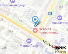 Компания Кондор на карте города