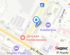 Компания Росгосстрах банк на карте города