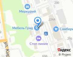 Компания ШИНА25.РУ на карте города