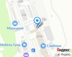 Компания Naviline на карте города