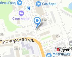Компания Зевс на карте города