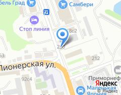 Компания Aqva line на карте города