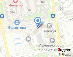 Компания Визит на карте города