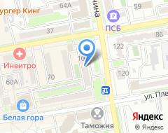 Компания Билетур на карте города