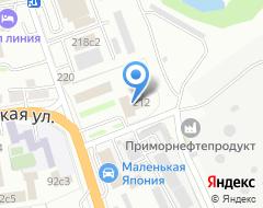Компания АвтоВладКар на карте города