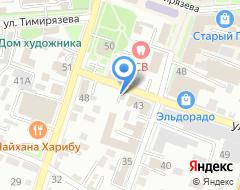 Компания Уссурпиво на карте города