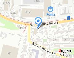 Компания Rock Paint на карте города