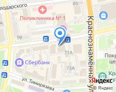 Компания Comfort магазин на карте города