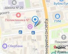 Компания Лаки М на карте города