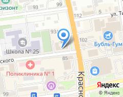 Компания Кореана на карте города