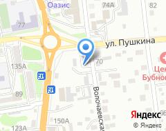 Компания Мастер-Моторс на карте города