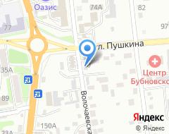 Компания Ангар25 на карте города