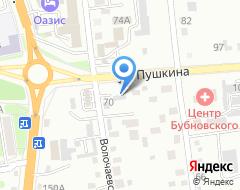 Компания Вираж S.T. на карте города