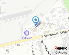 Компания Приморье на карте города