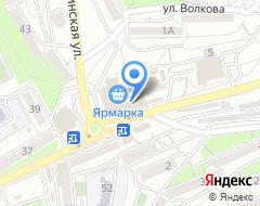Компания ПФК ДВ 25 на карте города