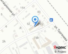 Компания Автомойка на Тургенева на карте города
